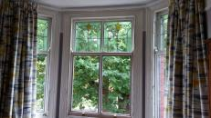 Bedroom bay window, Old trafford House